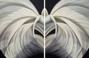 Untitled No. 26, diptych