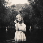 Girl In The Pond